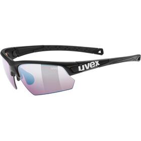 UVEX Sportstyle 224 Colorvision Lunettes de sport, black mat/outdoor